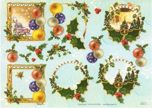 A4 Kerstknipvel TBZ 564242 Kerst in kader