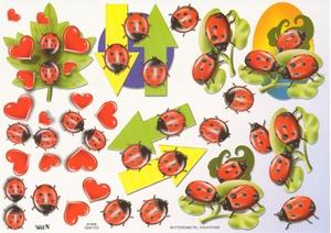 A4 Knipvel TBZ 504170 Dieren/lieveheersbeestjes
