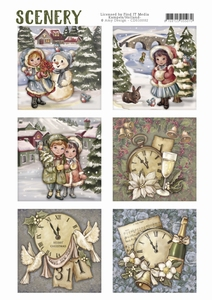 Die Cut Topper Amy Scenery CDS10002 Classic Christmas