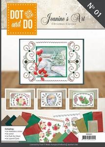 Dot and Do Book DODOA6001 Jeanine's Art Christmas Classics