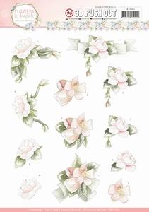 3D Stansvel Marieke Flowers in Pastels SB10285 Believe in