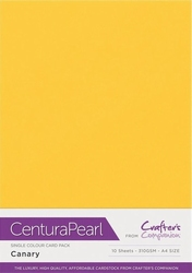 Crafters Companion Centura Pearl Canary