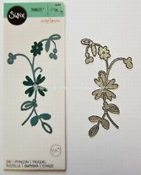 Sizzix Thinits Die Set 661045 Intricate Enchanting Blossom