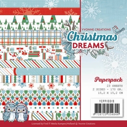 Yvonne Creations Paperpack YCPP10019 Christmas Dreams