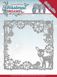 Yvonne's Die YCD10140 Christmas Dreams Animal Frame