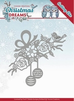 Yvonne's Die YCD10146 Christmas Dreams Bauble Ornament