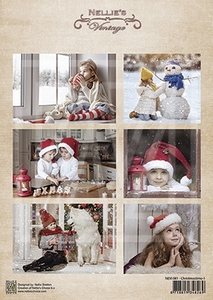 A4 Vel Nellie's Vintage Nevi081 Christmastime