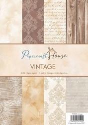Wild Roses Studio Paper Pack PH005 Stripes and Vintage