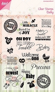 Joy! crafts Noor! Design Clear stamps 6410-0032 Baby