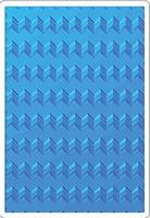 Sizzix Textured Impressions 661949 Geometric Chevrons