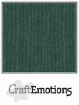 CraftEmotions A4 linnenkarton 1015 smaragdgroen