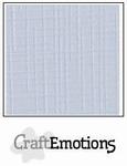 CraftEmotions A4 linnenkarton 1312 klassiek wit