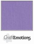 CraftEmotions A4 linnenkarton 1120 lavendel