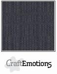 CraftEmotions A4 linnenkarton 1325 antraciet