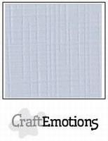 CraftEmotions A5 linnenkarton 1307 pastel creme