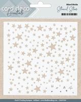 Card Deco Essentials Mixed Media Stencil CDEST003 Stars