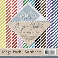 Card Deco Essentials Designer Sheets CDDSMP005 Bright Color