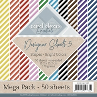 Card Deco Essentials Designer Sheets CDDSMP005 Bright Color