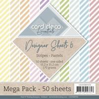 Card Deco Essentials Designer Sheets CDDSMP006 Pastels