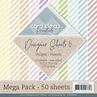 Card Deco Essentials Designer Sheets CDDSMP006 Pastels