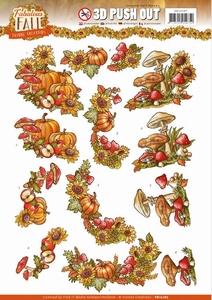 3D Stansvel Yvonne SB10287 Fabulous Fall Bouquets