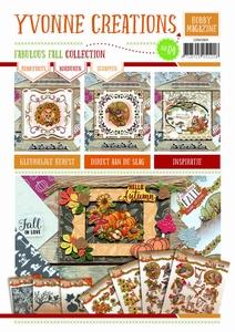 Hobby Magazine nr. 4 Yvonne Creations Fabulous Fall