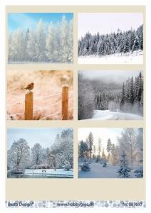 A4 Knipvel Barto Design 67697 Winter