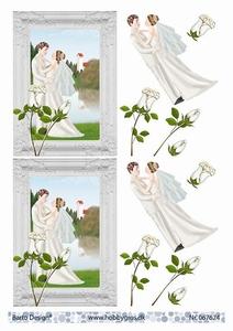 A4 Knipvel Barto Design 67624 Huwelijk