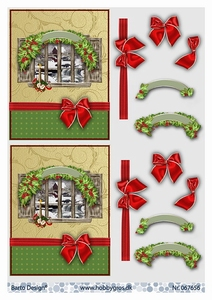 A4 Knipvel Barto Design 67656 Kerst