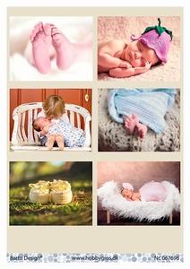 A4 Knipvel Barto Design 67696 Baby
