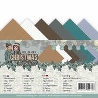 Amy Design Linnenkarton AD-4K-10016 Christmas Wishes