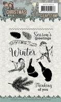Amy Design Clearstamp ADCS10055 Christmas Wishes Winter