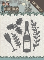 Amy Design Die ADD10152 Christmas Wishes Champagne