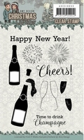 Amy Design Clearstamp ADCS10053 Christmas Wishes Cheers