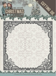 Amy Design Die ADD10147 Christmas Wishes Baubles Frame