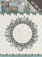 Amy Design Die ADD10149 Christmas Wishes Holly Wreath