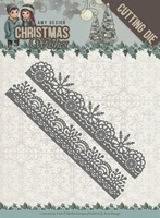 Amy Design Die ADD10150 Christmas Wishes Snowflake Borders