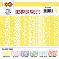Card Deco Designer Sheets CDDSKG006 Spring Edition Kanarie