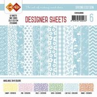 Card Deco Designer Sheets CDDSLB006 Spring Edition Lichtblau