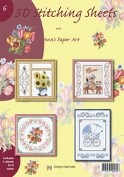 Ann's Paper Art 3D Stitching Sheets  6