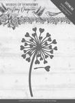 Amy Design Die ADD10155 Words of Sympathy Flower