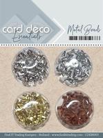 Card Deco Essentials Metal Brads CDEBR003 Goud/zilver/koper/