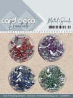 Card Deco Essentials Metal Brads CDEBR002 Groen/blauw/paars/