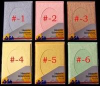 Lesuh 690333 ovale passe-partout kaart Parchment roze nr 2