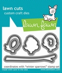Lawn Fawn LF573 Winter Sparrows Dies