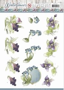 Marieke 3D Stansvel Winter Flowers SB10299 Orchids