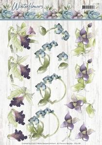 Marieke 3D Knipvel Winter Flowers CD11188 Orchids