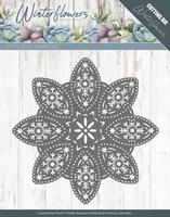 Marieke Die Winter Flowers PM10140 Floral Snowflake