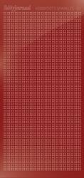Hobbydots sticker Sparkles 1 HSPM014 Mirror Red