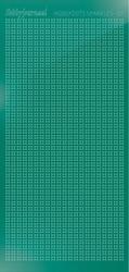 Hobbydots sticker Sparkles 1 HSPM01J Mirror Christmas Green